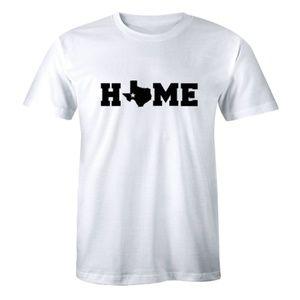 Home Texas Map - Pride Texan Lonestar T-shirr Tee